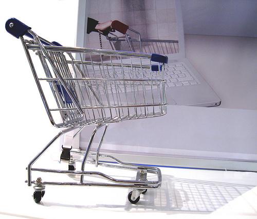 online shopping cart Magento