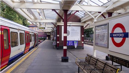 Watford train station