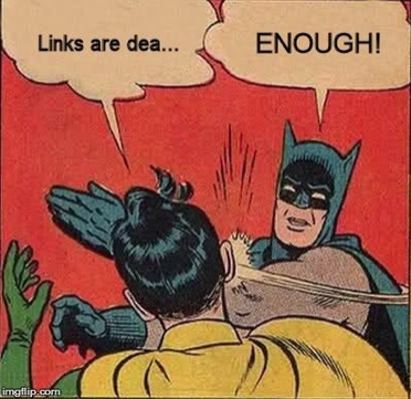 link are not dead