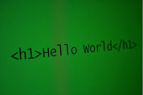 h1 hello world