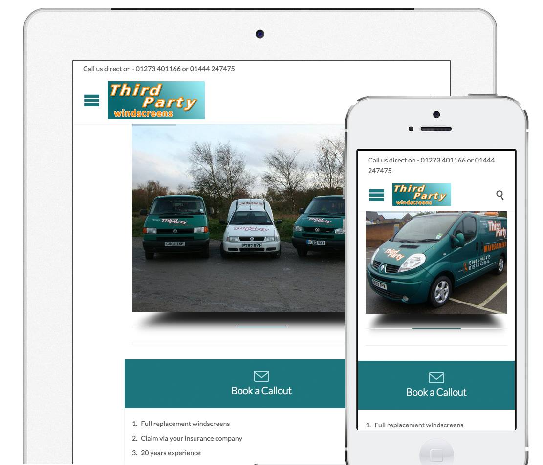 third party windscreens new website