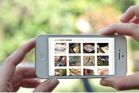mobile view for magento
