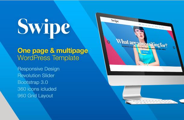 swipe wordpress theme