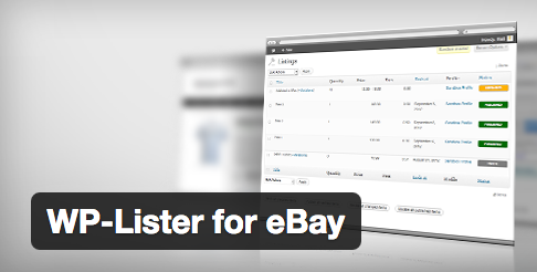 wp lister for ebay