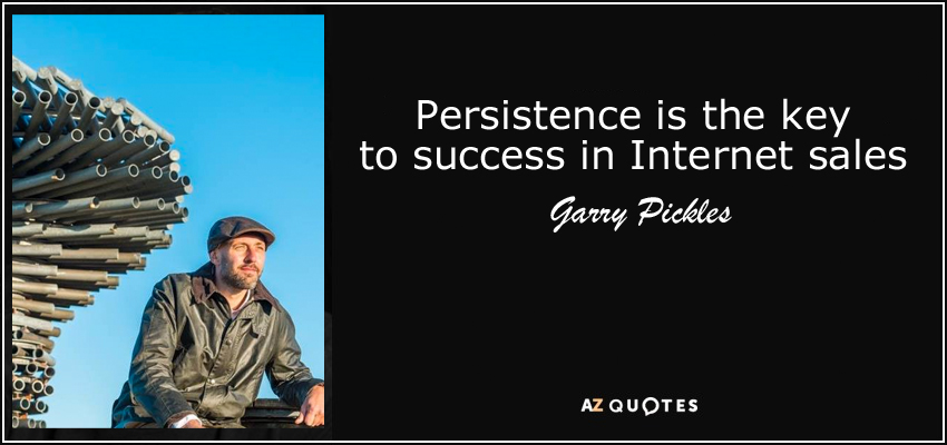 persistence business quote